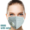 Earloop KN95 Face Protective Masks with Valve Disposable Anti Virus Mask 6 Layer Protection