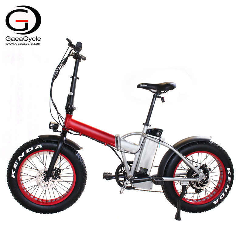 20inch Fat Tire Folding Electric Bicycle for Beach