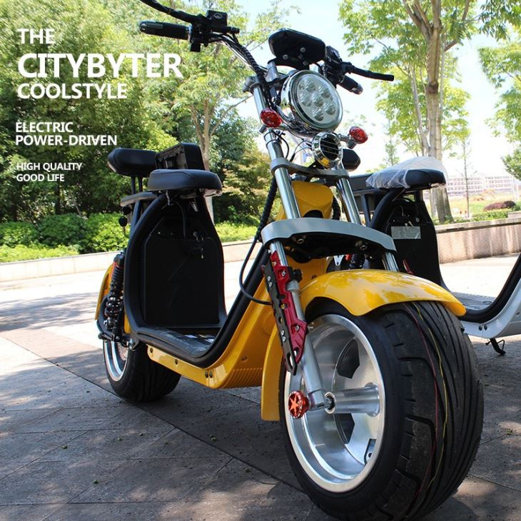 2019 New Citycoco Aluminum Wheel Fat Tire Electric Scooter