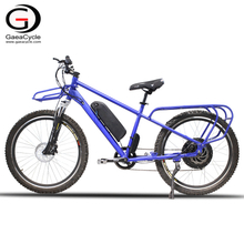 Big Seat Electric Cargo Mountain Bicycle