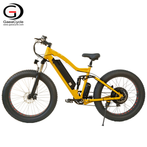 26inch High Quality Full Suspension Mountain Fat Tire Electric Bicycle