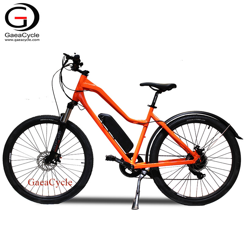 27.5inch Fat Wheel Electric Mountain Bike Sport Bicycle with Fender For Women Ladies