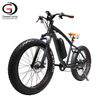 26inch Vintage Fat Tire Electric Bicycle for Snow Beach