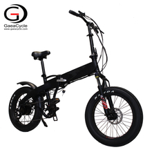 20 Inch Hidden Battery Fat Tire Folding Ebike Electric City Bike