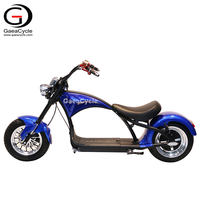 European Warehouse Citycoco 2020 Chopper Electric Scooter 2000W Powerful Motorcycle Bike