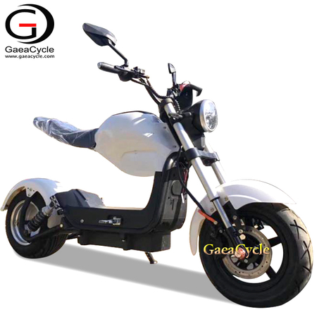 EEC COC Approved Electric Motorcycle Scooter with Removable Lithium Battery