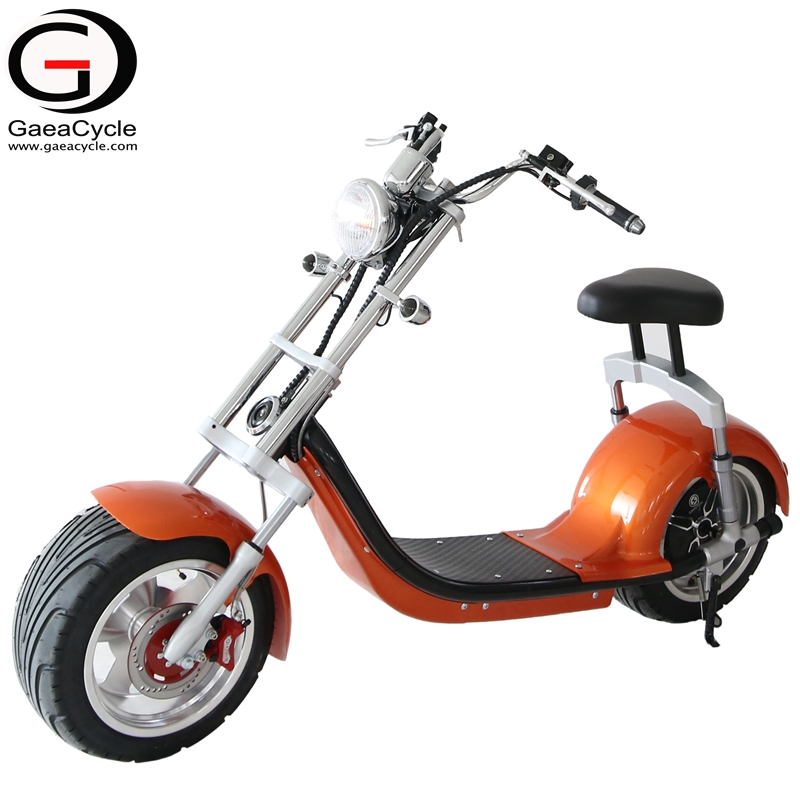 Fat Tire Electric Scooter Aluminum Wheel Citycoco