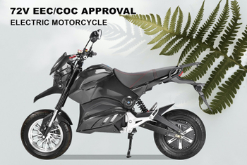 GAEA EEC/COC Newest CP-8 ELECTRIC MOTORCYCLE SHANSU TECHNOLOGY CO LIMITED
