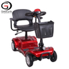 2020 Four Wheel Electric Scooter for Disabled Folding Mobility Scooter for The Elderly