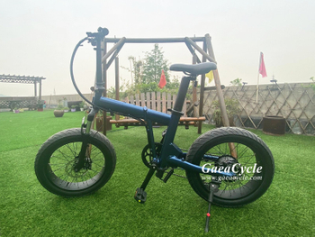 Newest fat tire folding 20inch electric bike
