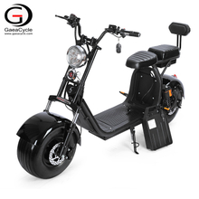 Double 20ah Battery Fat Tire Citycoco Electric Scooter