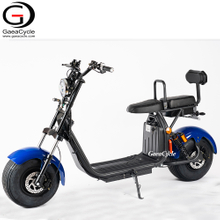 EU WAREHOUSE Cheap Fat Tire Electric Scooter 1500w Double Battery Citcycoco