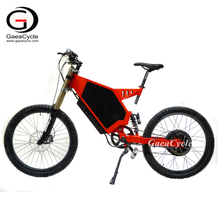 High Power 3000W 5000w Mountain Electric Bike Stealth Bomber
